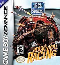 ROCK N ROLL RACING GAME BOY ADVANCE GBA COSMETIC WEAR