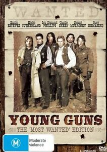 YOUNG GUNS starring Emilio Estevez (DVD, 2008) - LIKE NEW!!!