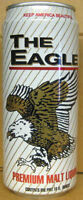 THE EAGLE MALT LIQUOR, 16oz Beer CAN,  Evansville Brewing, INDIANA, CLOSED 1997