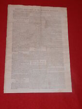 JOURNAL GAZETTE NATIONALE OU LE MONITEUR UNIVERSEL N° 297 MARDI 23 OCTOBRE 1792