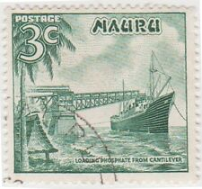 (NA34)1966 Nauru partSet decimals 8 stamps1c-10cow66-74
