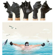 Swimming Surfing Diving Training Hand Flippers Frog Webbed Gloves Palm