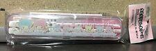 2016 NEW Sanrio LITTLE TWIN STARS extendable chopsticks travel case rainbow pets