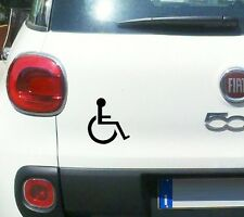 Handicap Symbol Decal Car Window Vinyl Disabled Sign Wheelchair Sticker