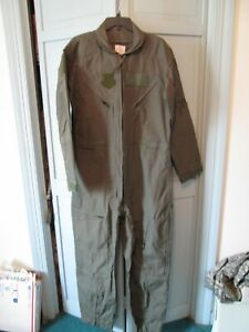 MILITARY ISSUE GREEN FLIGHT SUIT CWU-27/P 44R NWOT