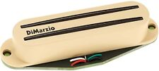 DiMarzio DP180 Air Norton S Hum Cancelling Rails Strat Bridge Pickup, Cream NEW!