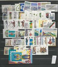 1993 MNH yearset/jaargang Bundespost, Bund, BRD, germany, Postfris
