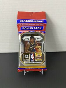 1 x 2020-21 Panini PRIZM NBA Basketball Cello FAT PACK Factory Sealed