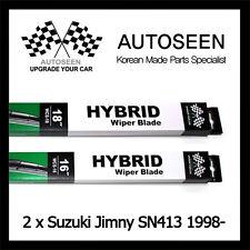 Windscreen Wiper Blades For SUZUKI JIMNY 2006 2007 2008 2009 2010 2011 2012 2013