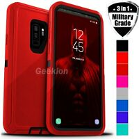 For Samsung Galaxy S9 | S9+ Shockproof Protective Rugged Hard 3 Layer Case Cover