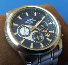 Gents Chronograph watch LORUS by Seiko - 100M - Mint