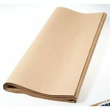 Brown parcel paper packaging 20 plain natural sheets wrapping gifts recycled 40G
