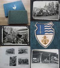 Marine Fotoalbum + Erinnerungsbuch Kraftfahrabteilung Wilhelmshaven / 122 Fotos
