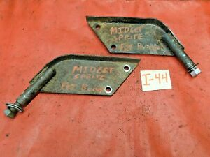 MG Midget, Sprite, Front Bumper Mounting Brackets to Frame, Original, !!
