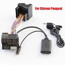 Bluetooth AUX Audio Cable Adapter+MIC for Citroen C2 C3 C4 C5 C6 C8 RD4 Radio CD