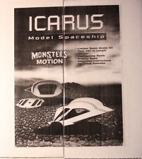 """Monsters in Motion """"ICARUS"""" Model Spaceship with Interior"""
