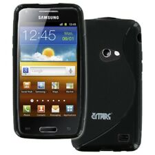for Samsung Galaxy Beam I8530 Black Grip TPU Gel S-Line Case Cover Accessory
