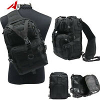 Tactical Outdoor Molle Rucksack Messenger Assault Backpack Shoulder Sling Bag