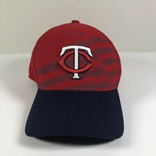 New Era 39Thirty Minnesota Twins American Flag Stretch Baseball Hat Cap L-XL