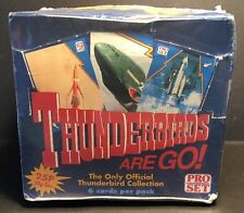 1992 Pro Set - THUNDERBIRDS ARE GO - Trading Cards UK Issue FULL Box of 66 Packs