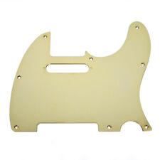 Fender Modern Telecaster 8-Hole Single-Ply Gold-Plated Brass Pickguard
