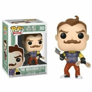 Funko POP Vinyl Games Hello Neighbour With Axe & Rope 262 Brand New