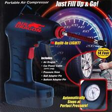 New Handheld Portable Air Compressor Auto Tire Inflator Pump Emergency Tool Car