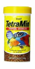 New listing TetraMin Tropical Granules Nutritionally Balanced for Small Fish 3.52-Ounce