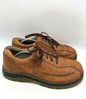 Dr Martens 11200 Mens Lace Up Leather Oxford Shoes Brown Size 10 EU 43