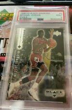 Michael Jordan6BLACK DIAMOND1998UPPER DECK PSA 9