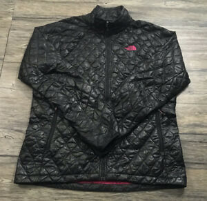 The North Face Thermoball Quilted Puffer Jacket Womens Sz L .