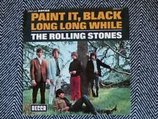 """THE ROLLING STONES - Paint it black / Long long while - 7"""" / 45T"""