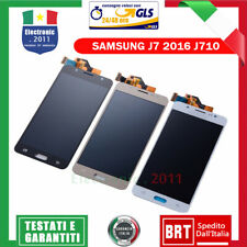 PER SAMSUNG GALAXY J7 2016 J710 SM-J710FN DISPLAY LCD TOUCH SCREEN SCHERMO VETRO