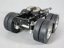 Custom Toy Aluminum Tamiya 1/14 R/C Semi Tractor Trailer 2 Axles Dolly Pin Mount