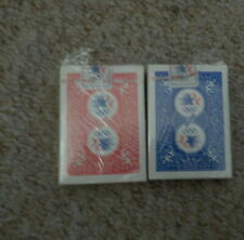 2 Olympic1984 Bicycle Red / Blue Decks