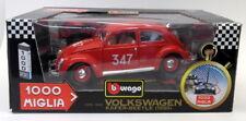 Burago 1/18 Scale Diecast 3261 Volkswagen Kafer Beetle 1955 1000 Miglia
