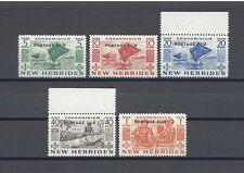 More details for new hebrides 1953 sg d11/15 mnh cat £30