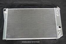 3 ROWS 84-90 Corvette SMALL BLOCK V8 (Chevy S10 V8 Conversion) ALUMINUM RADIATOR