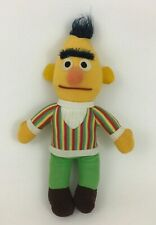 "Knickerbocker Bert 11"" Plush Stuffed Doll Toy Sesame Street Muppet Vintage 80s"