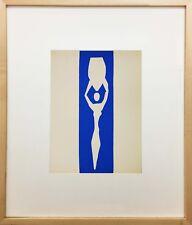 Nu Bleu XII by Henri Matisse (Framed Fine Art)
