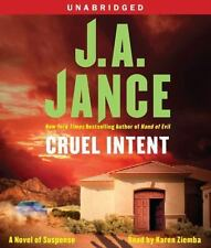CRUEL INTENT unabridged audio book on CD by J.A. JANCE - Brand New 9 CDs 10 Hrs