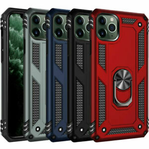 Hybrid Shockproof Armor Magnetic Ring Holder Stand Case iPhone 11 PRO XS MAX XR