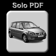 RENAULT SCENIC II - MANUAL DE TALLER - WORKSHOP MANUAL - MANUEL REPARATION
