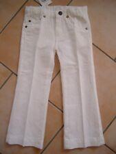 (10) Super Leichte bellybutton Girls Sommer Hose BW & Leinen 5 Pocket gr. 92