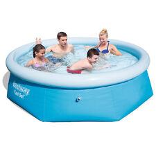 Bestway 57008 Quick Up Pool 244 X 66cm Schwimmbecken Rundbecken #