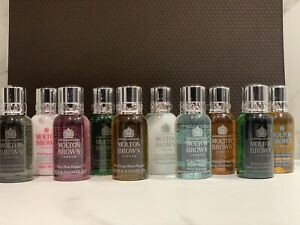 Molton brown 10 Mini Travel Set - New And Packaged In a Gift Bag-lovely Present