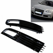 Front bumper Left& Right Side Fog Light Lower Grille Cover For Audi A8 2008-2010