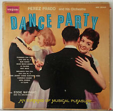 Perez Prado And His Orchestra ~ Dance Party ~ Vintage Mono LP Cheesecake Mambo