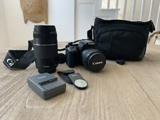 Canon Rebel Xti Digital Camera With 75-300 mm Zoom Lens