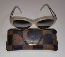 FendiMatte Transparent / Green Gray 143 Satin Crystal 52-17-140 Sunglasses